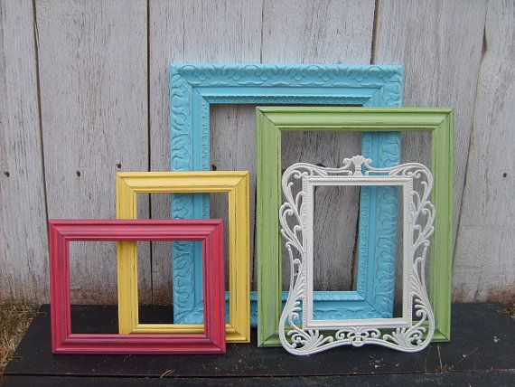 5 vintage FRAMES Instant Collection in COTToN by VintageEvents ...