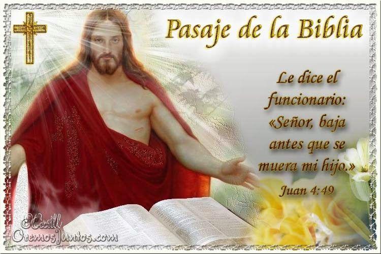 Vidas Santas: Santo Evangelio según san Juan 4:49