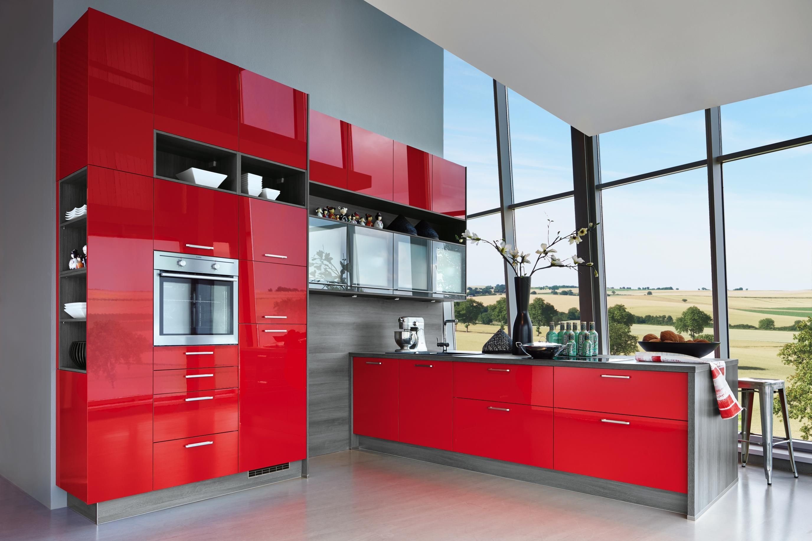 Top Moderne E Geräte Und Eine Offene Gestaltung Zum Wohnraum Lassen  Küchenträume Wahr Werden. Mehr Ideen Auf Flamme.de