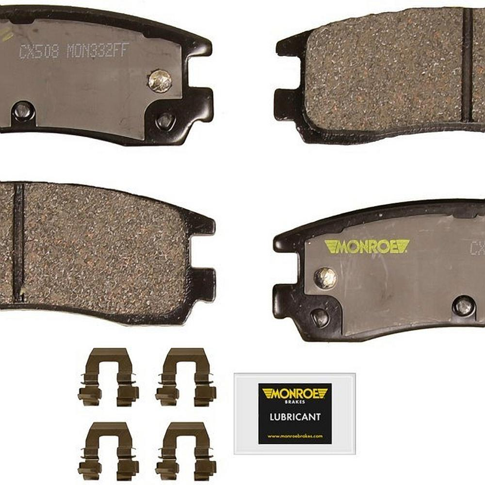 Monroe Brakes Total Solution Ceramic Brake Pads Cx508 Ceramic Brake Pads Ceramic Brakes Brake Pads