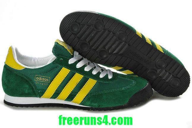 dragon adidas green