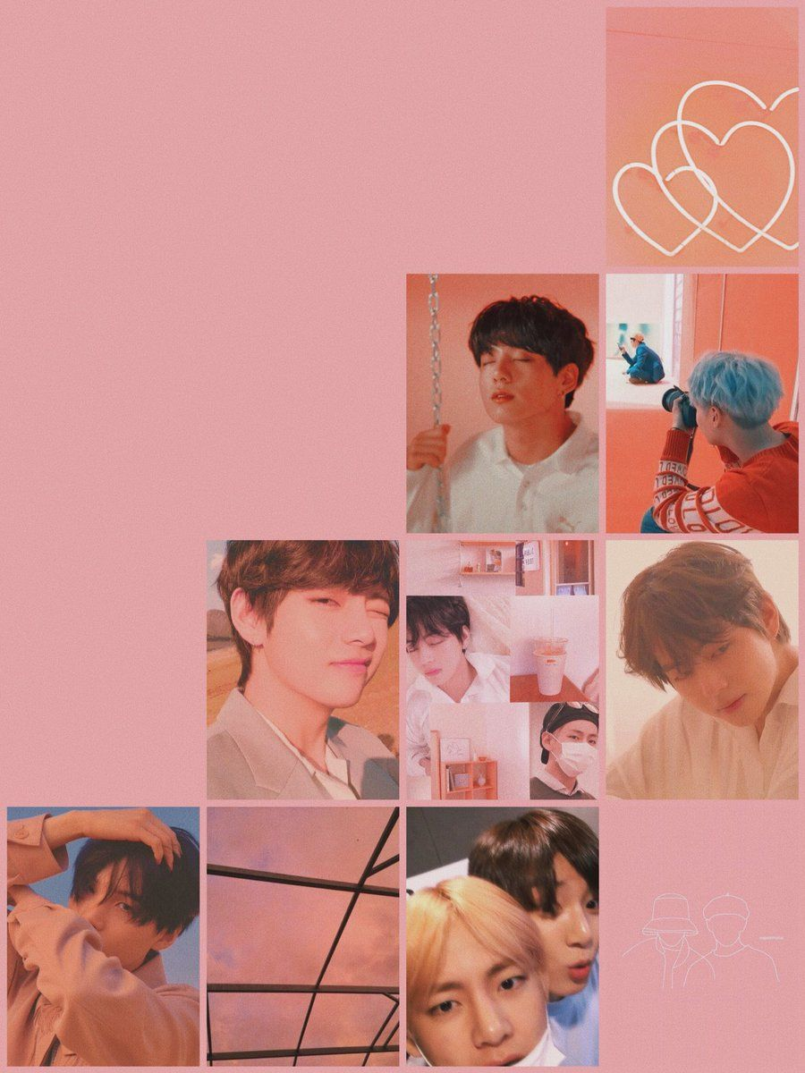 Bts Aesthetic Wallpaper For Mobile Phone Tablet Desktop Computer And Other Devices Hd And 4k Bts Aesthetic Wallpaper For Phone Peach Wallpaper Bts Wallpaper Bts wallpaper tablet hd
