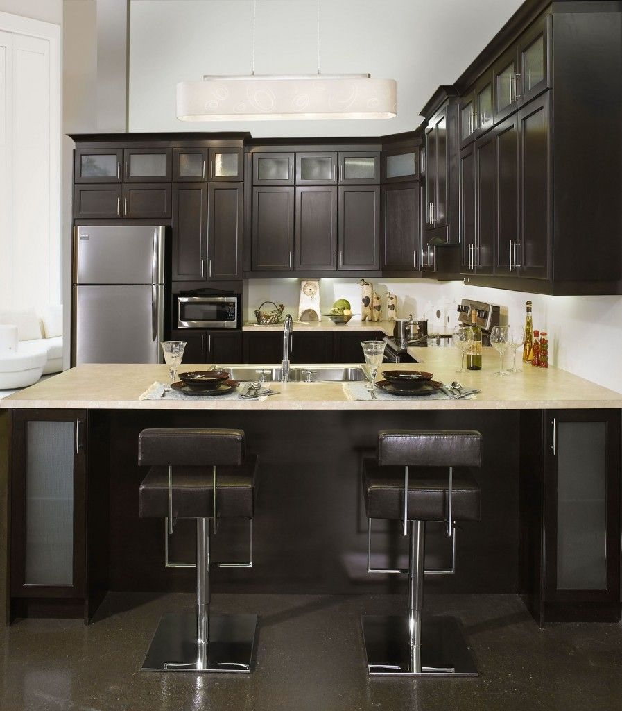Made With Pre Assembled Chocolate Maple Cabinets Design And Innovation Are Our Sources Of