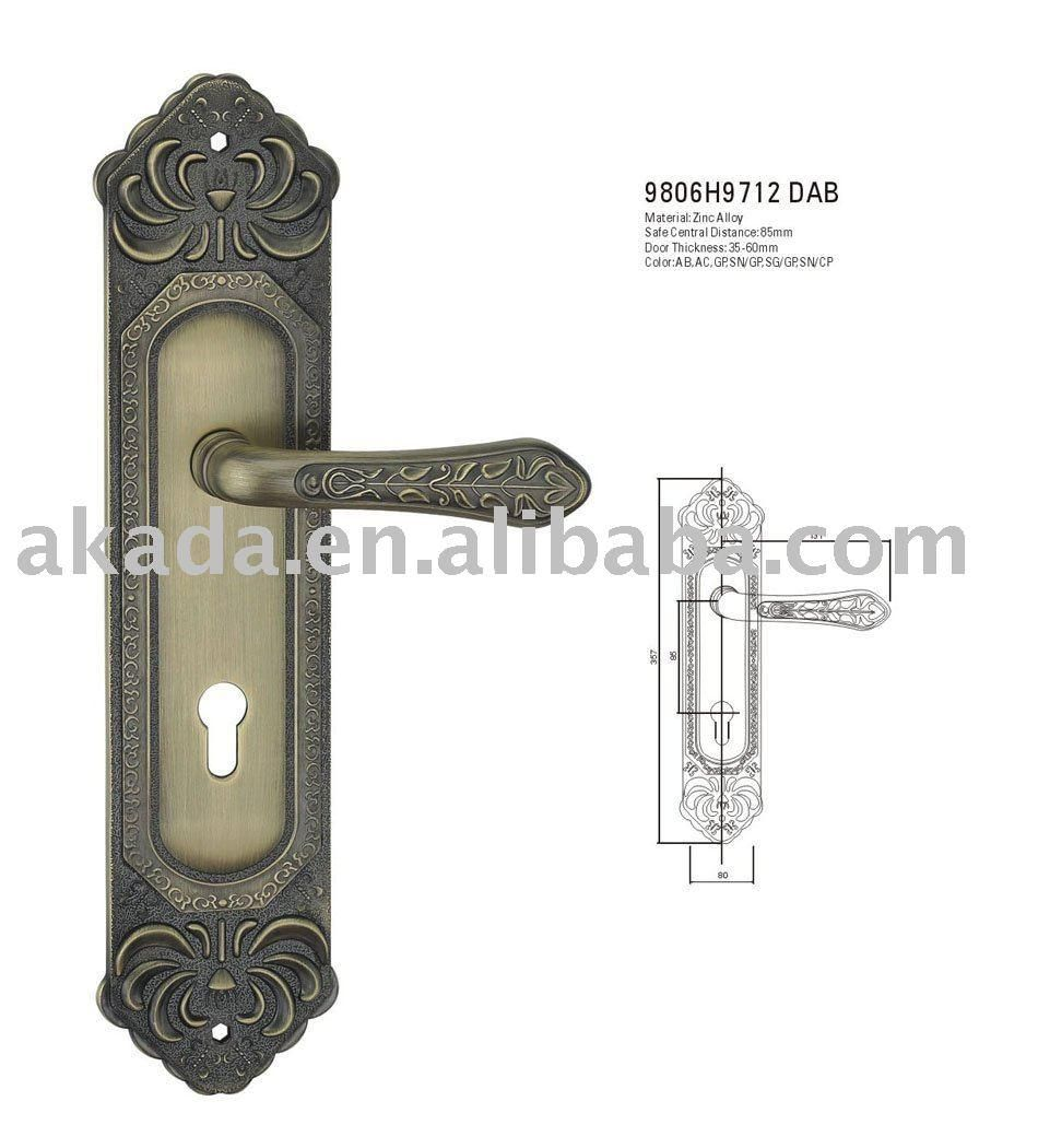 French Country Door Knobs | Interior French Door Knobs Brass French Door  Handles Manufacturers .