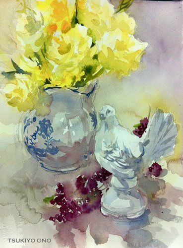 Artimañas: Selección acuarelas de flores -II-