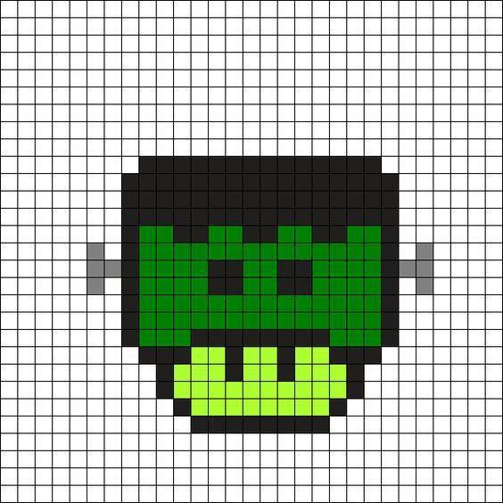Si T Es Pas Champignon T Es Pas Mario Grille Pixel Art