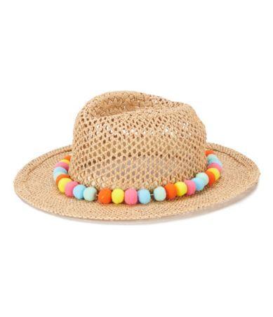 August Hats Gypsy Delight Pom Pom Sun Fedora  b1502701af2