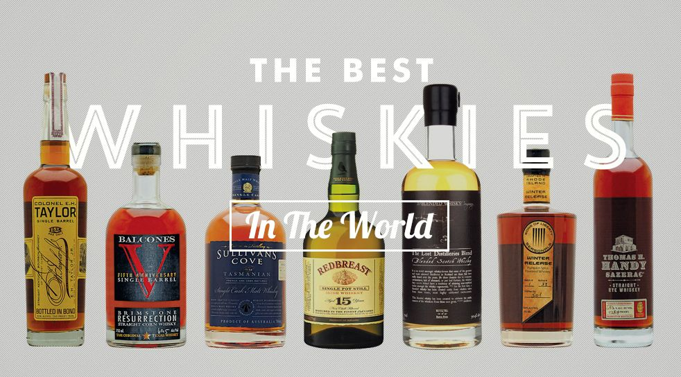 These Are The Best Whiskies In World