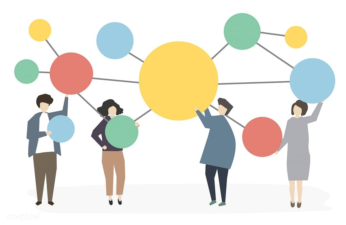 People Connected And Networking Free Image By Rawpixel Com