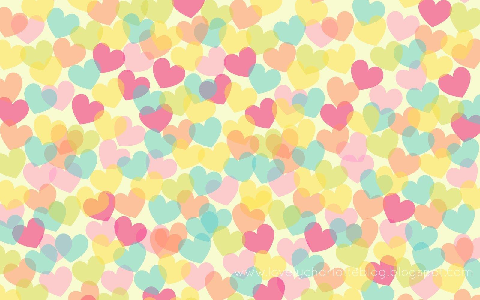 Lovely charlotte fondo de escritorio de corazones for Imagenes para fondo de escritorio