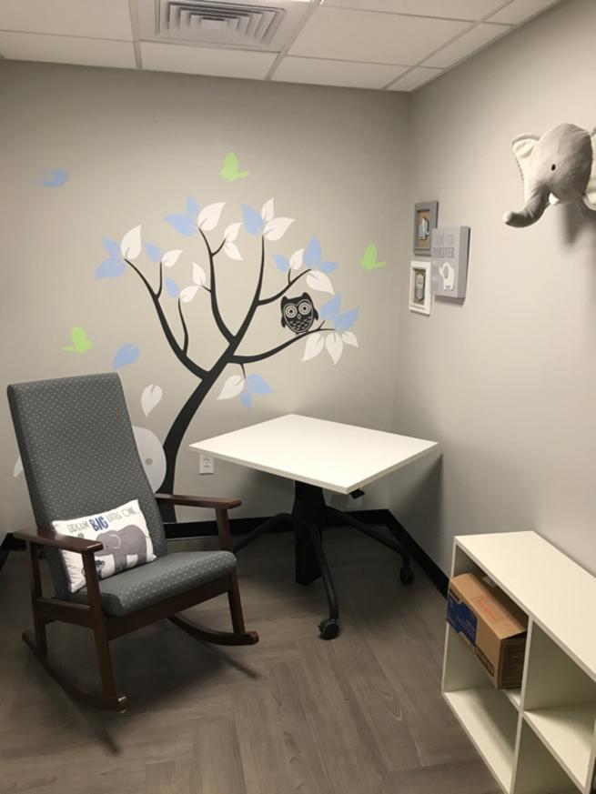 Unilever Lactation Room Nursing Room Room Redesign
