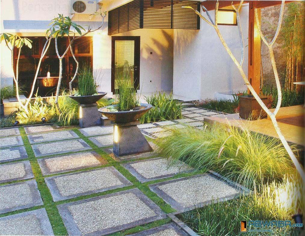 Pin By John Zain On Home Design Desain Taman Minimalis