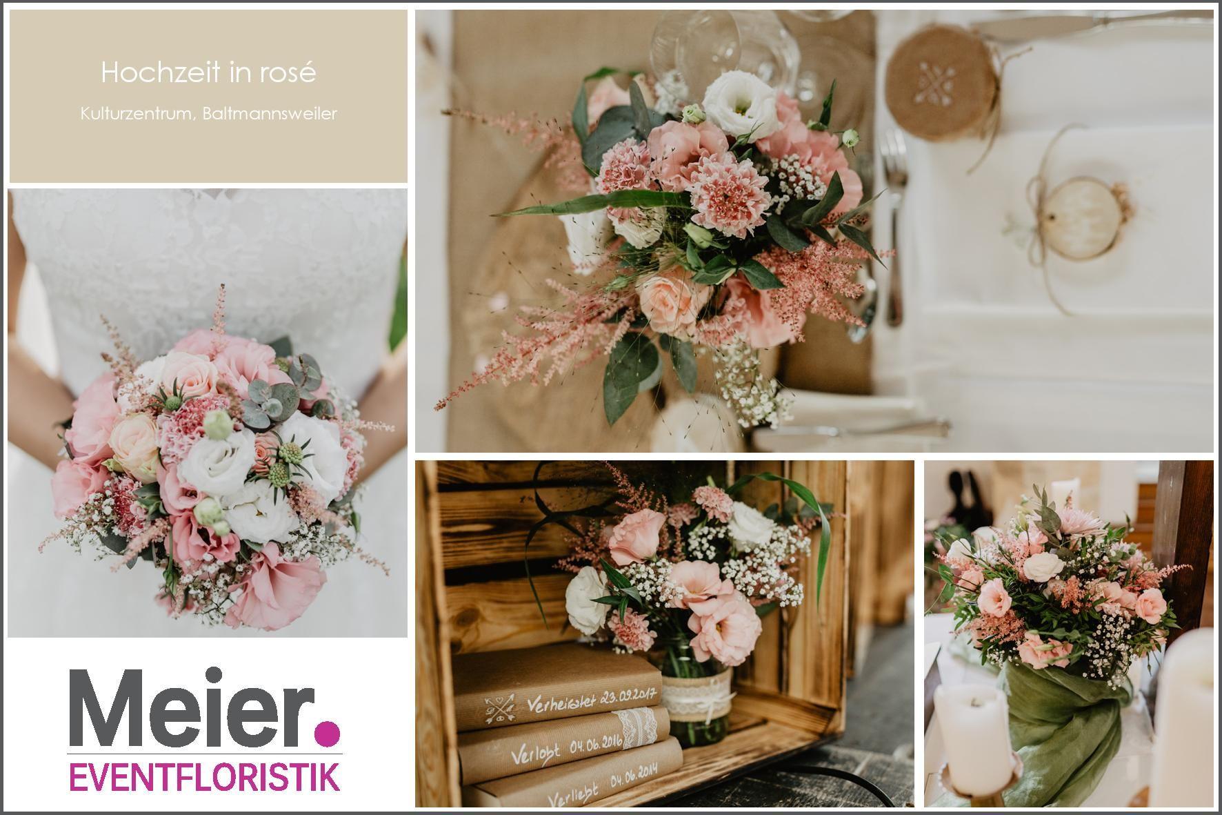 Blumenkonzept Hochzeit Mit Brautstrauss Und Tischdeko In Rosa Mit Jute Und Holz Brautstrauss Und Tischdeko Brautstrauss Kulturzentrum