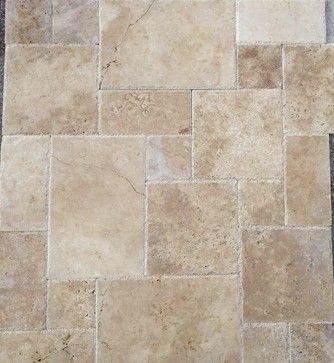 French Pattern Anatolian Paver Chiseled Dry Stone Tile