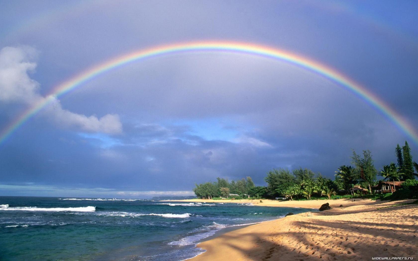 красивые фото радуги на рабочий традиционно