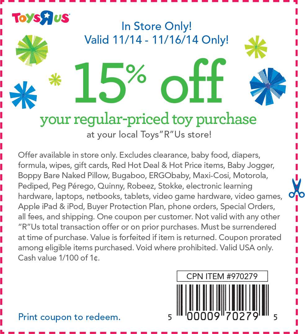Toys R Us Coupons 15 Off At Toys R Us Promo Codes Toys R Us Coupon Apps App