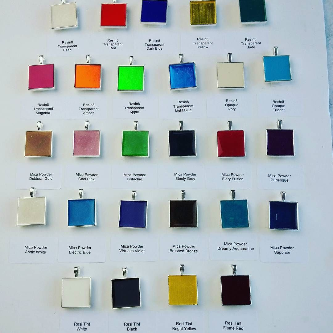 Just some of our gorgeous pigments for colouring your resin!  #resin #pigment #colour