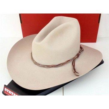 STETSON 6X BEAVER FELT GUS COWBOY  WESTERN HAT