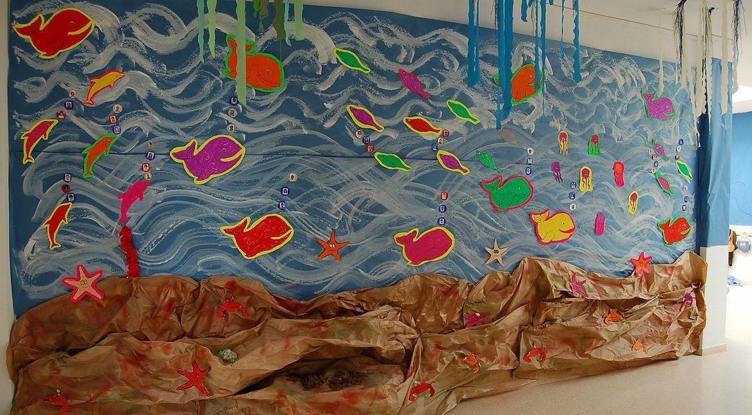El Fons Del Mar A L Escola Educacioilestic Preschool