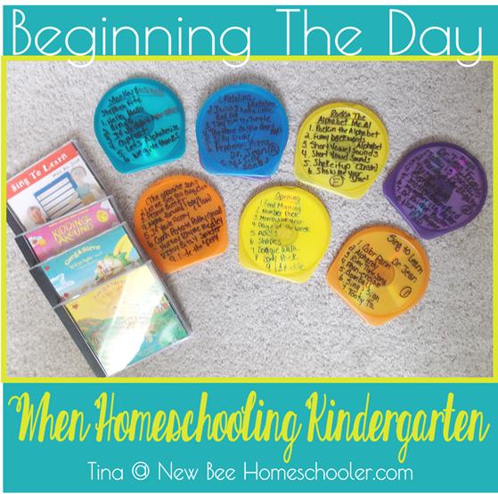 New Homeschooler - How To Start Homeschooling Kindergarten Part 1