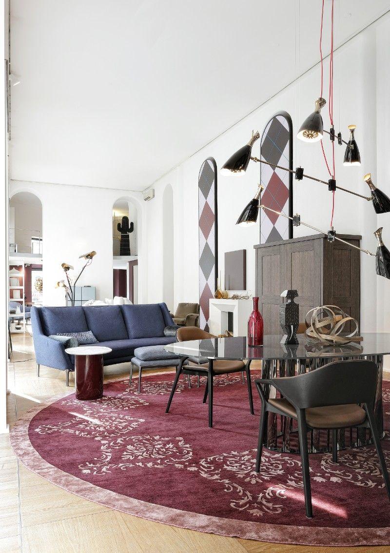 Sag 80 the most stunning mid century modern showroom in for Interior designer famosi