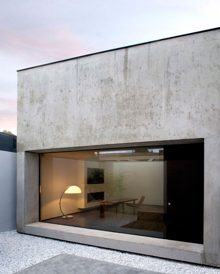 ODOS architects.  I'm not sure if this is concrete or not? I like the color of this but in stone.