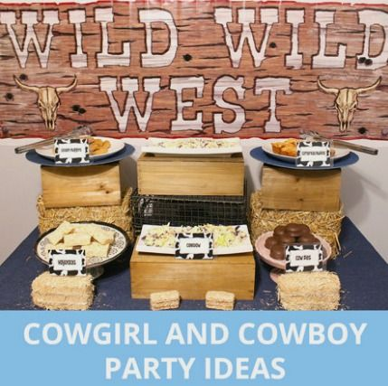 Cowgirl and Cowboy Birthday Party Ideas http://fave.co ...