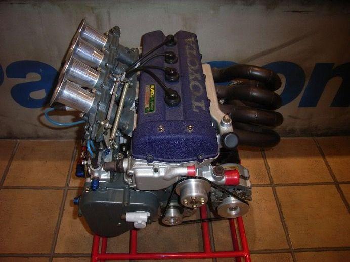 TOYOTA 137E (3K-R) Engine / 3K kai 4valve DOHC Race Engine