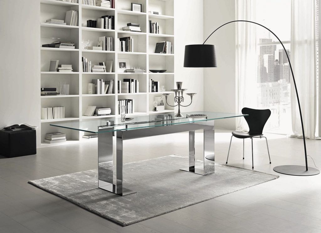 Modern Glass Dining Table Beautiful Contemporary Glass Dining