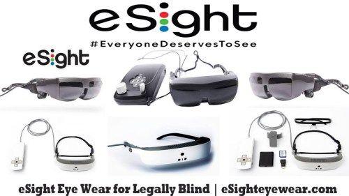 Esight Eye Wear For Legally Blind Esighteyewear Com Bingdroid Com Eyewear How To Wear Legally Blind