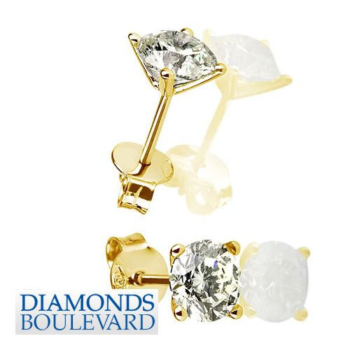 0.9 Natural Certified Diamond Earrings People Will Even