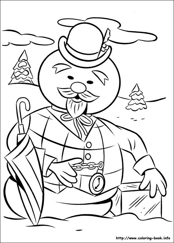 Rudolph The Red Nosed Reindeer Coloring Picture Rudolph Coloring