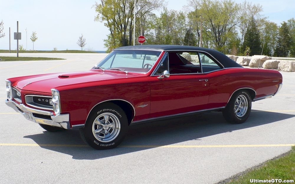 Montero Red 1966 Gto Hardtop Ultimategto Com Classic Cars Muscle Gto Vintage Muscle Cars