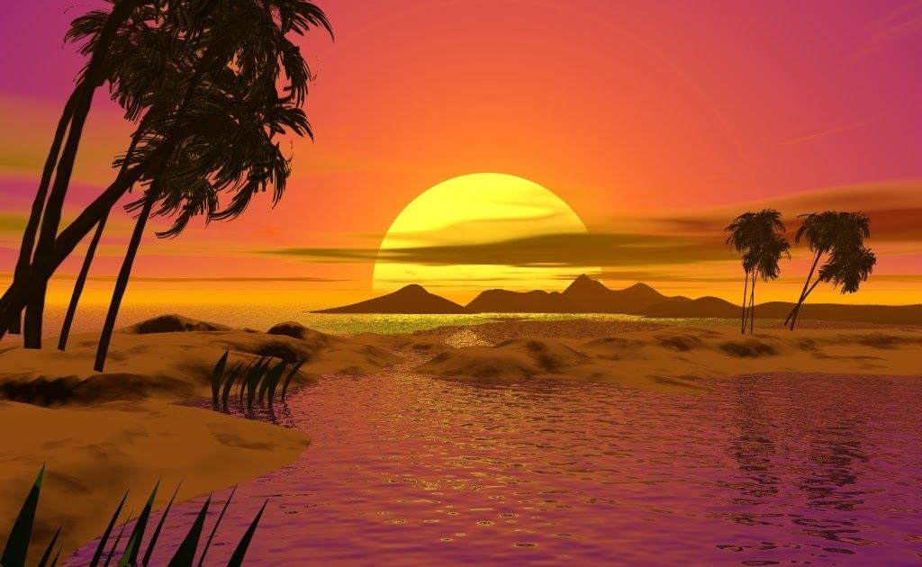 Gambar Pemandangan Pantai Sunset Kartun Gambar Pemandangan Pantai Yang Indah Pantai Adalah Salah Satu Tempat Wisa Di 2020 Pemandangan Latar Belakang Matahari Terbenam