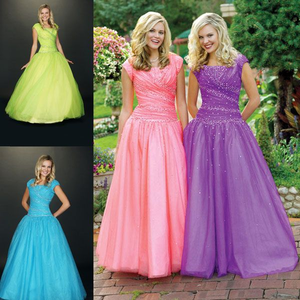 Modest Prom Dresses   These Are Just Some Of My Favorite Things ...