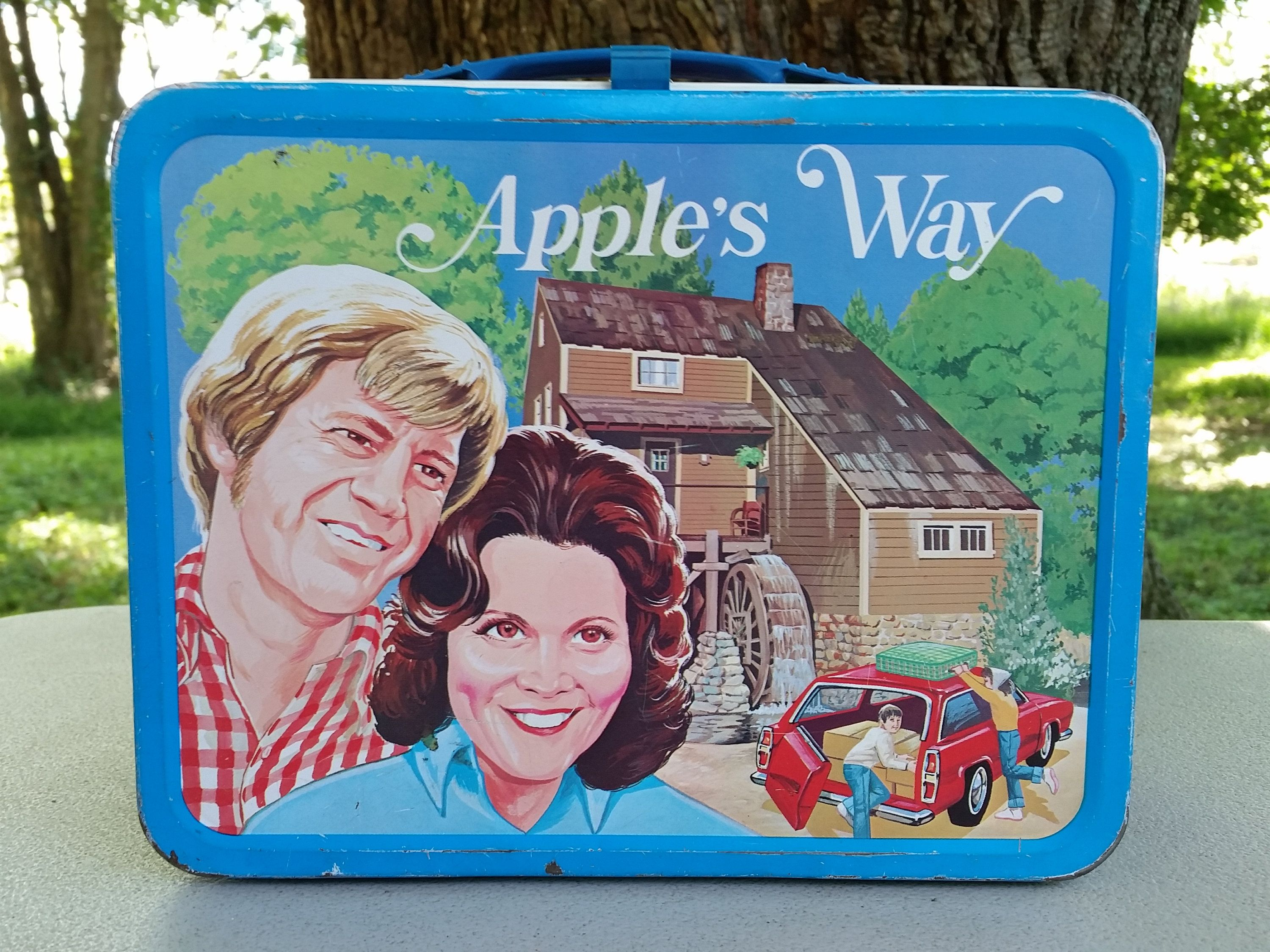 Apples way lunch box by thermos 1975 lunch box apple