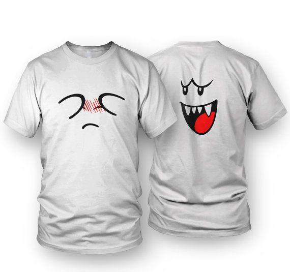 081e3ea1a5 Super Mario Bros. Boo T-shirt MEN S   by FinalElixirClothing