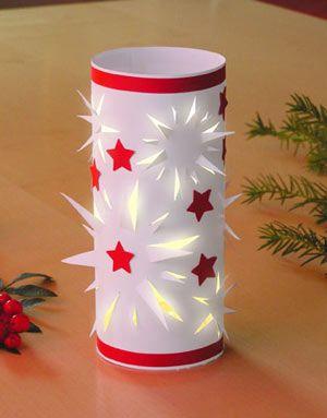 anleitung sternen windlicht weihnachten pinterest stars star and cut outs. Black Bedroom Furniture Sets. Home Design Ideas