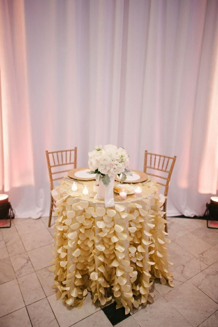 Simple wedding decoration ideas for reception  Simple And Elegant Candlelit Wedding  Sweetheart Table Ideas