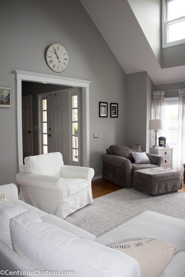 How To Create A Fixer Upper Style Family Room On A Budget Painting