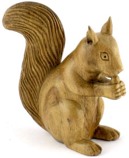 Image detail for small wood carvings animals from bali