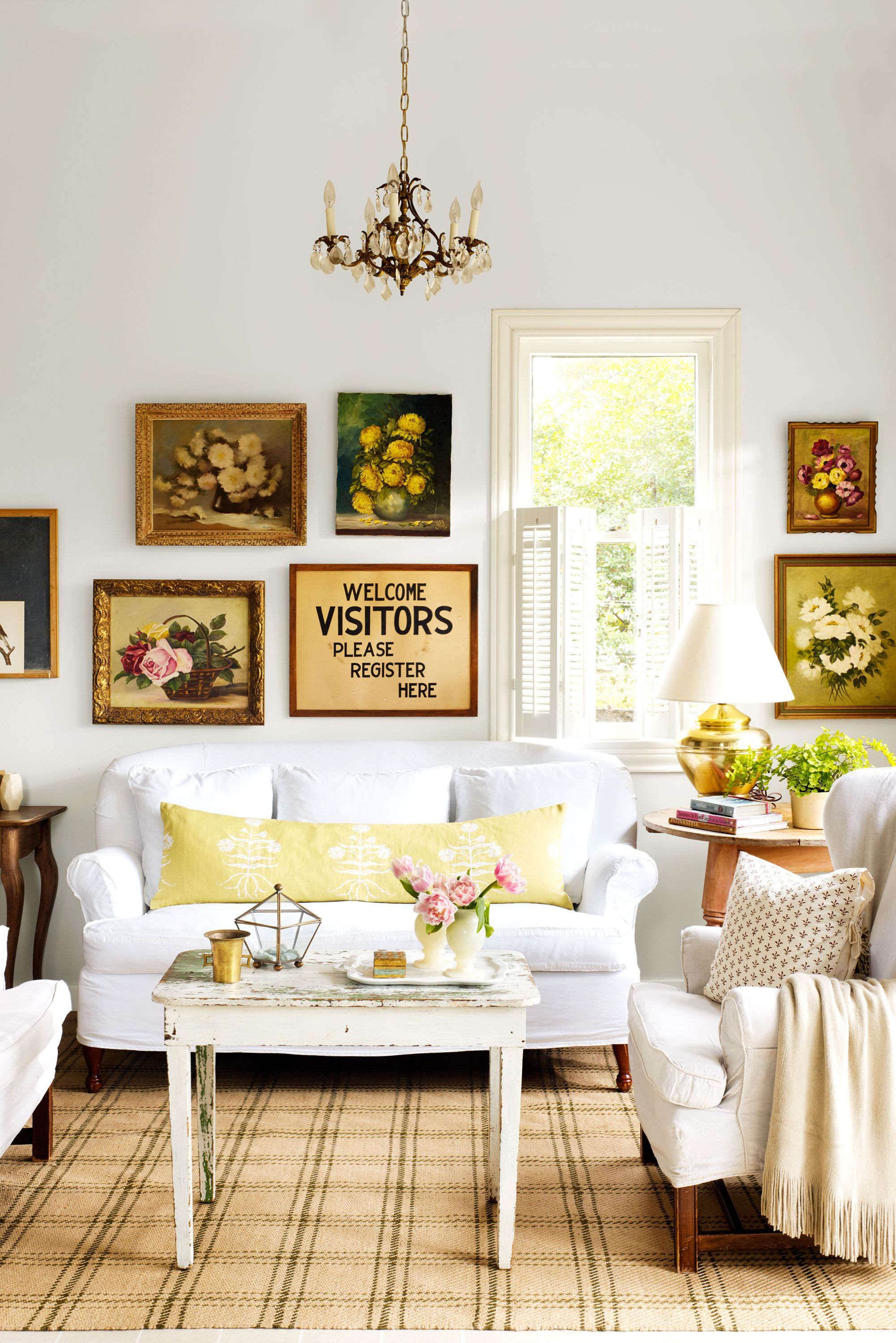 Fine Country Style Home Decor Ideas Sketch - Home Decorating ...