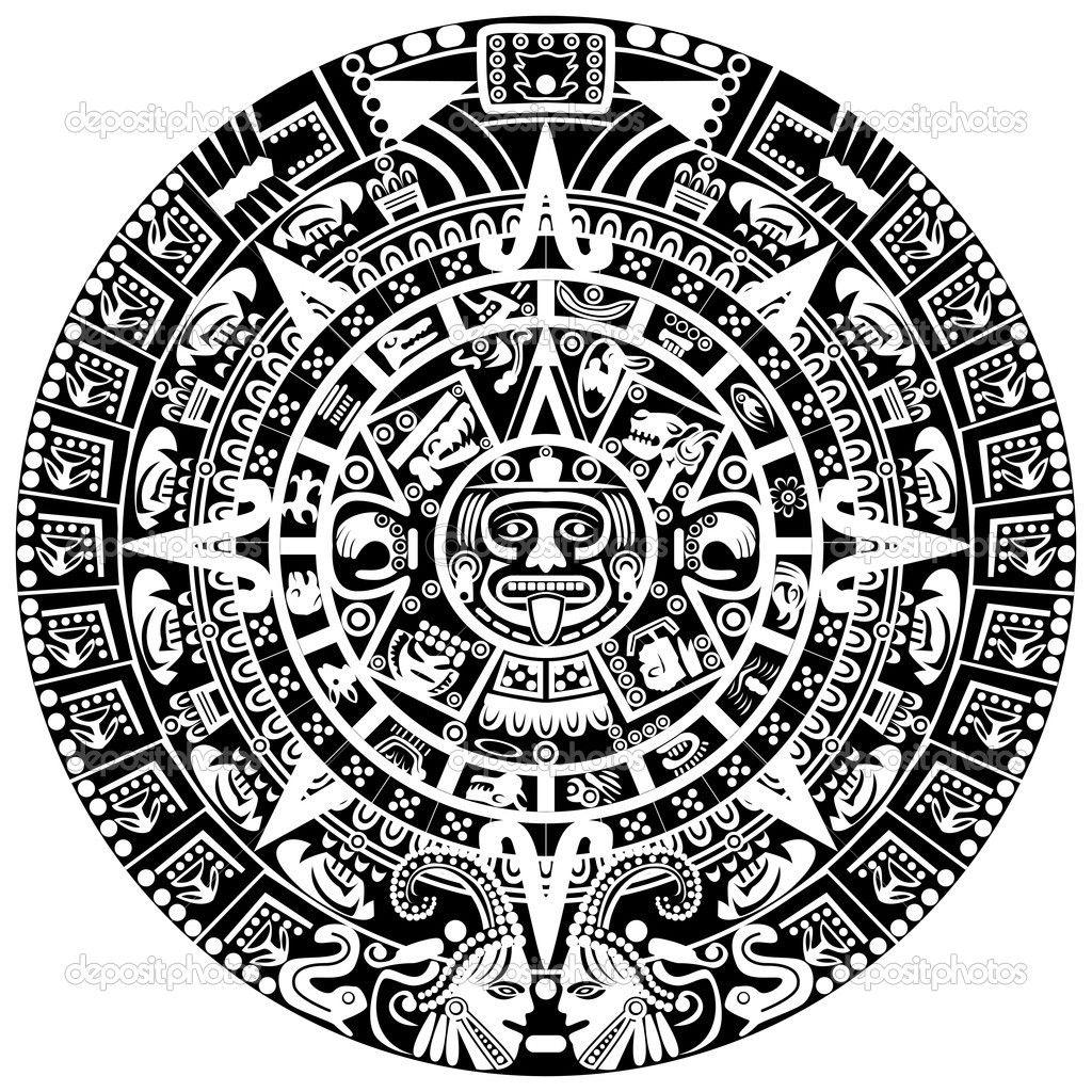 depositphotos_19204147-Mayan-calendar.jpg (1024×1024) | tattoos ...
