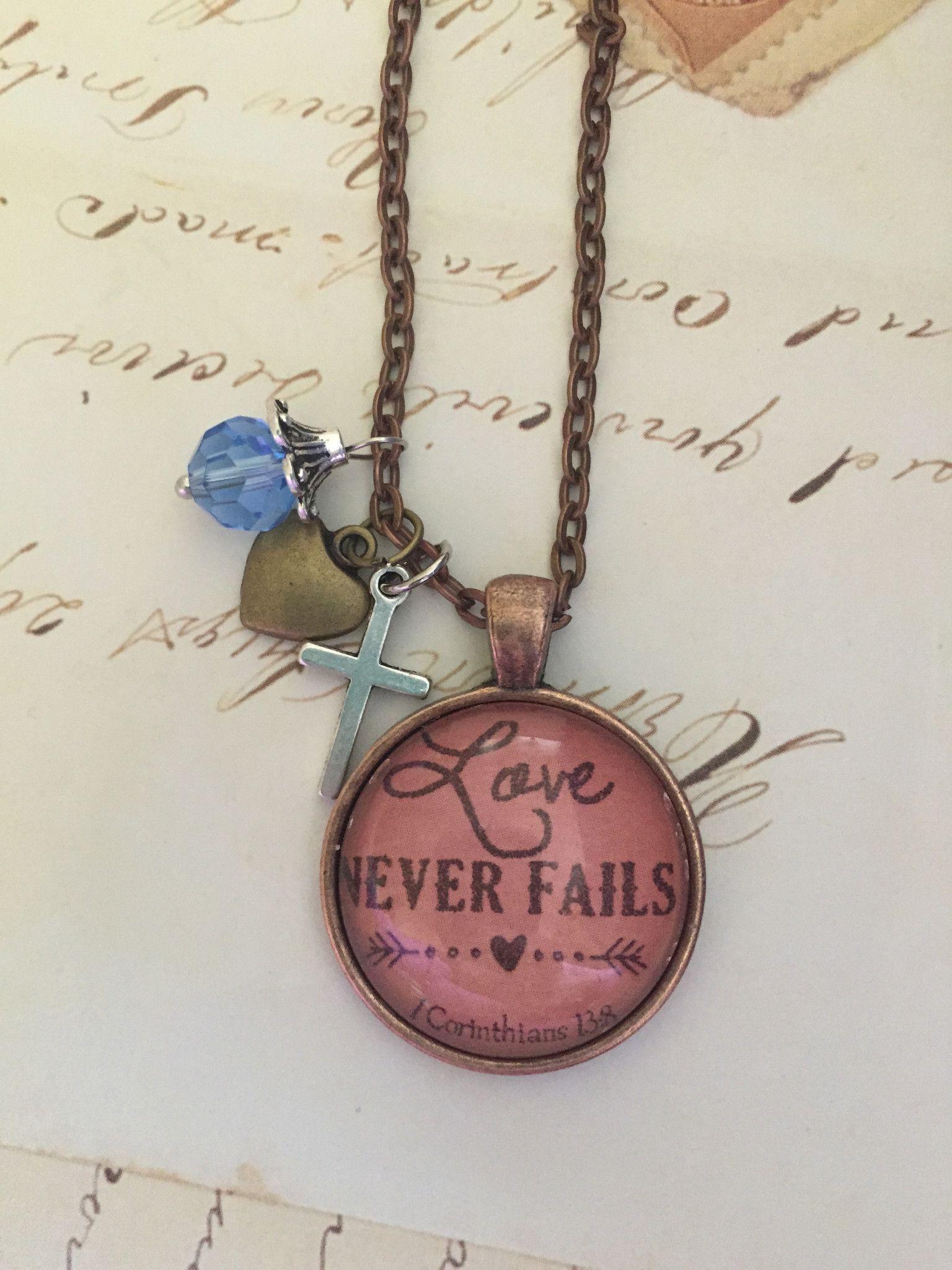 Love Never Fails Pendant