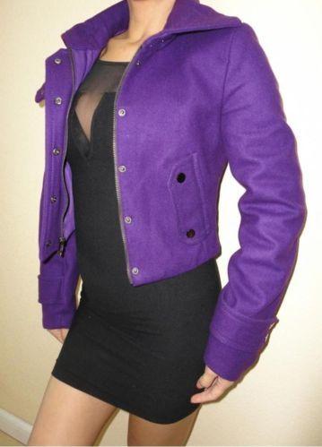 BCBG Purple Wool Coat | Closet | Pinterest | Coats, Wool and Purple