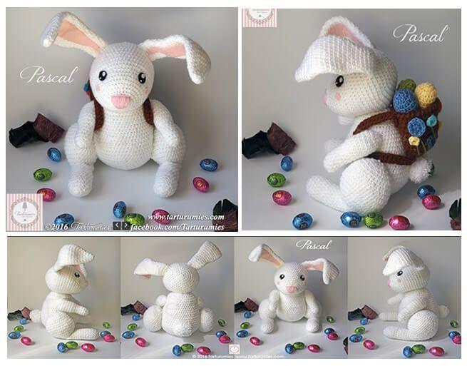 Amigurumis Conejos Paso A Paso : Aprende a tejer amigurumis el paso a paso tejidos a crochet para