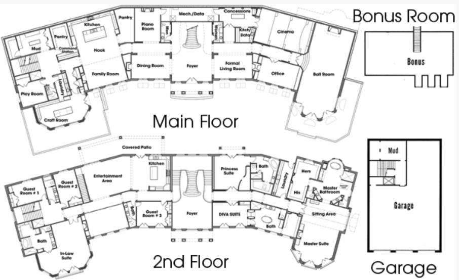 22 000 Square Foot Mega Mansion In Draper Utah Floor Plans Homes Of The Rich In 2020 Mansion Floor Plan Luxury Floor Plans Mansion Plans
