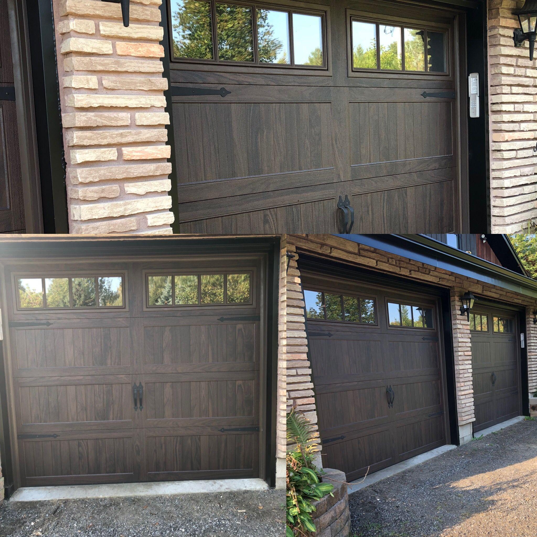 New Chi Walnut Garage Doors Garage Doors Garage Door Design House Paint Exterior