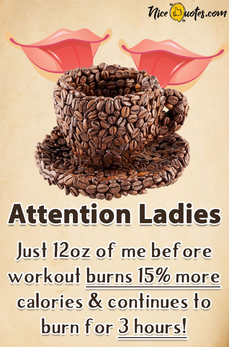 Coffee is a Good Pre Workout Drink That Helps Burn