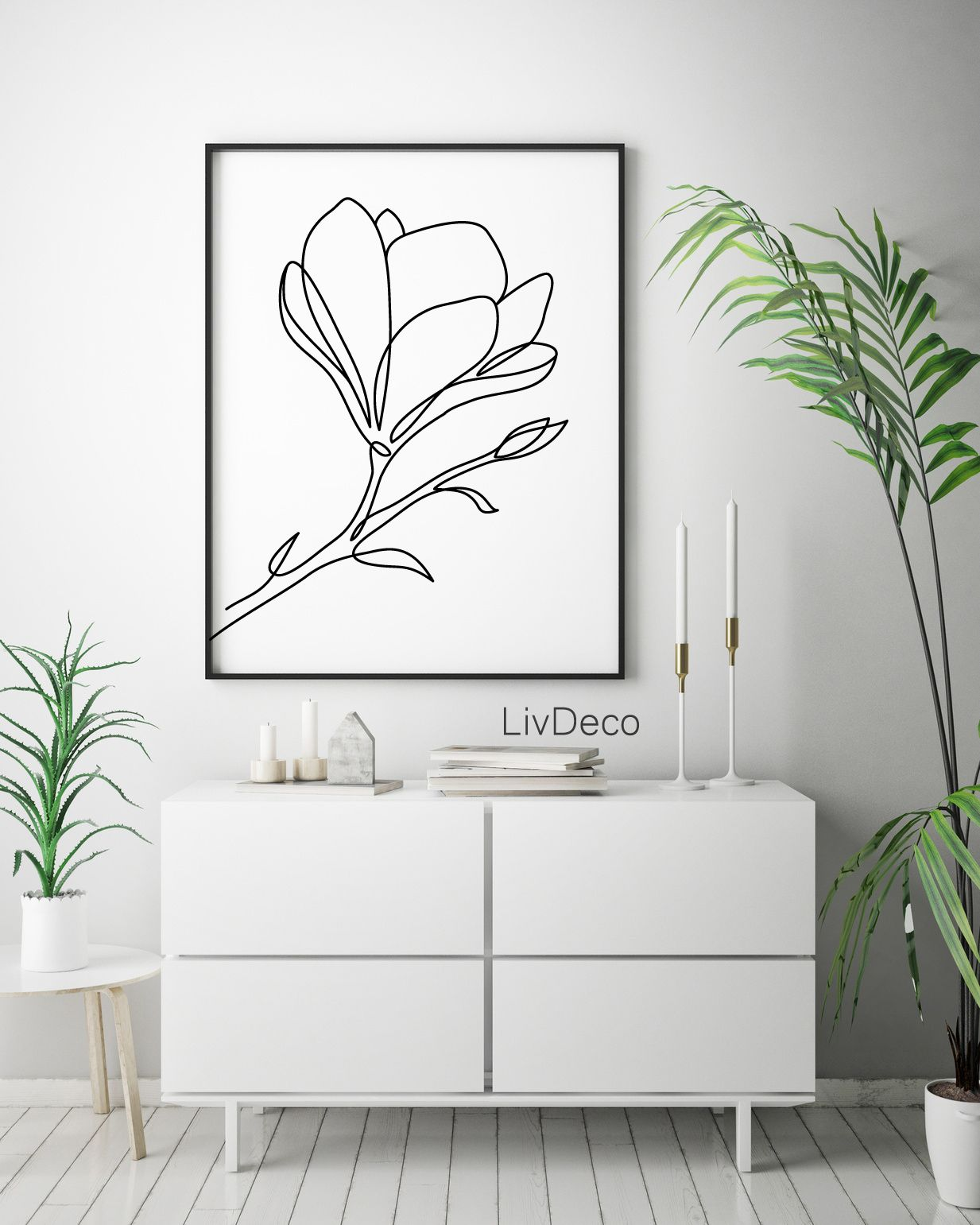 20 Types Botanical Flower Photo Prints Wall Art Size A4 or Large A3 Pictures